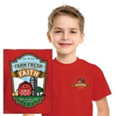 Farm Fresh Faith: Youth T-Shirt, Small (6-8)