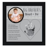 Big Brother's Heart & Me Photo Frame