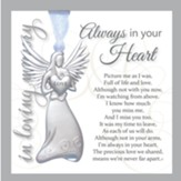 Always in Your Heart, In Loving Memory, Angel Ornament
