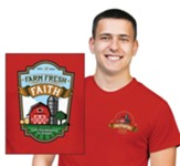 Farm Fresh Faith: Adult T-Shirt, 4X-Large