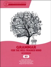 Grammar for the Well-Trained Mind:  Key to Red Student Workbook
