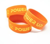 Power Up: Silicone Bracelet (set of 12)