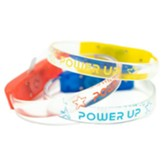 Power Up: Sound Activated LED Bracelet (set of 12)