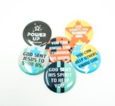 Power Up: Buttons (12 sets of 6)