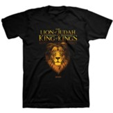 King Lion Shirt, Black, Large