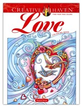 Creative Haven Love Coloring Book