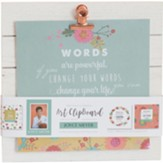 Joyce Meyer Quote Art Clipboard, Green
