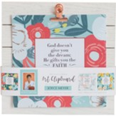 Joyce Meyer Quote Art Clipboard, Blue