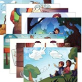 Answers Bible Curriculum PreK-1 Unit 1 Justin & Jessie Story Posters (2nd Edition)