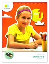 Answers Bible Curriculum Grades 4-5 Unit 1 Teacher Kit (2nd Edition)