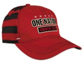 One Nation Under God Cap, Red