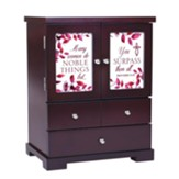 Many Women Do Noble Things, Jewelry Armoire