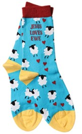 Jesus Loves Ewe, Sheep, Socks