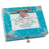 Aunts -Only An Aunt Hugs Like a Mother, Music Box w Locket