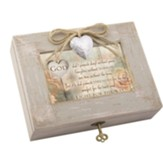 God Didn't Promise Days Without Pain, Music Box with Locket