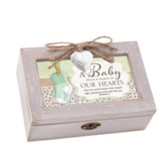 A Baby Fills a Place in Our Hearts, Petite Music Box with Locket