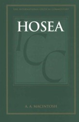 Hosea, International Critical Commentary