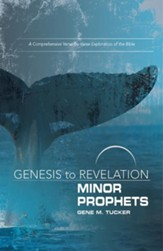 Minor Prophets: A Comprehensive Verse-by-Verse Exploration of the Bible - Participant Book (Genesis to Revelation Series)