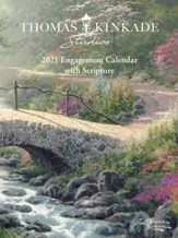 2021 Thomas Kinkade Studios Engagement Calendar with Scripture