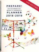Prepare!: An Ecumenical Music & Worship Planner - 2018-2019, CEB Edition