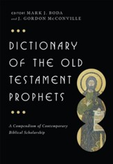 Dictionary of the Old Testament: Prophets - eBook