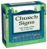 2021 Church Signs Day-To-Day Calendar