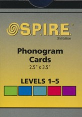 Spire 1-5 Phonogram Cards  3rd  Edition
