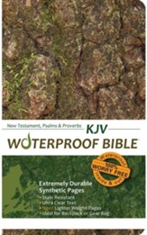 KJV Waterproof NT/PS/PV Sportman's Edition