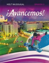 Avancemos! (Spanish) Level 3 Homeschool Package - Student Edition