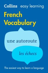 Easy Learning French Vocabulary (Collins Easy Learning French) - eBook