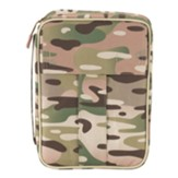 Camo Bible Cover, Medium