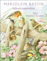 2021 Marjolein Bastin Nature's Inspiration Monthly Planner
