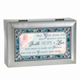 God Bless with Faith, Hope, Love, Petite Music Box