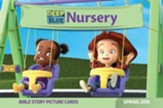 Deep Blue: Nursery Bible Story Picture Cards, Spring 2019