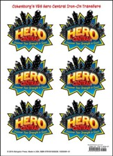 Hero Central: Iron-On Transfers, pkg of 12