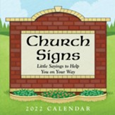 2022 Church Signs Day-to-Day Calendar