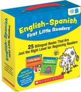 English-Spanish First Little  Readers: Guided Reading Level B (Parent Pack): 25 Bilingual Books That are Just the Right Level for Beginning Readers