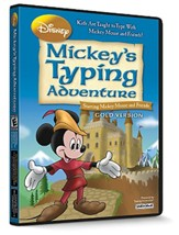 Mickey's Typing Adventure CD-ROM  Gold Version (Windows Edition)