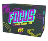Focus VBS Virtual Experience & VBS Starter Kit + USB -  Orange VBS 2020