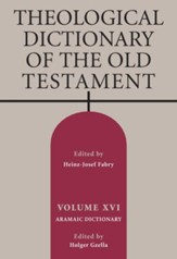 Theological Dictionary of the Old Testament, Volume 16