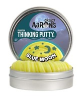 Thinking Putty, Blue Moon, With Glow  Charger