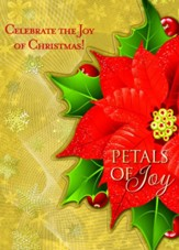 Petals of Joy: Celebrate the Joy of Christmas!  - Slightly Imperfect