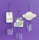 To Mars and Beyond: Wind Chimes Craft Kit (Pkg. of 12)