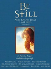 Be Still: 31 Days to a Deeper Meditative Prayer Life - eBook