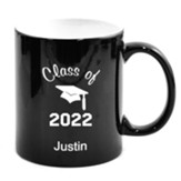 Personalized, Ceramic Mug, Graduation, Black