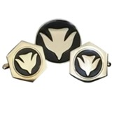 Descending Dove Cuff Link Set