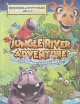 Jungle River Adventure: Preschool Activity Pages with Stickers