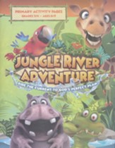 Jungle River Adventure: Primary Activity Pages with Stickers
