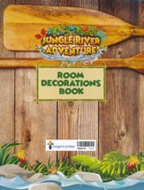 Jungle River Adventure: Room Decorations Transparencies