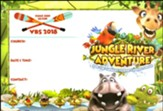Jungle River Adventure: Publicity Poster